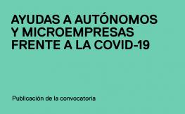 Publicadas las convocatorias de ayudas a autónomos y microempresas y a personas afectadas por ERTO