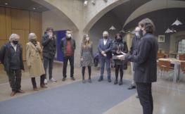 Imatges dels guardonats en els Premis d'Arquitectura de les Comarques de Girona 2020