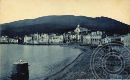 Panoràmica del poble de Cadaqués