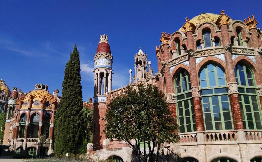 Visita tècnica guiada al Recinte Modernista de l'Hospital de Sant Pau de Barcelona