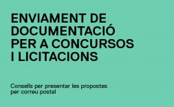 enviament de documentació per a concursos i licitacions