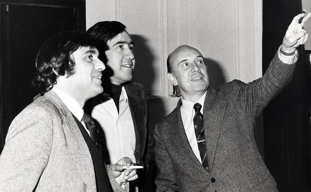 Carles Buxadé, Joan Margarit i Leopoldo Gil Nebot