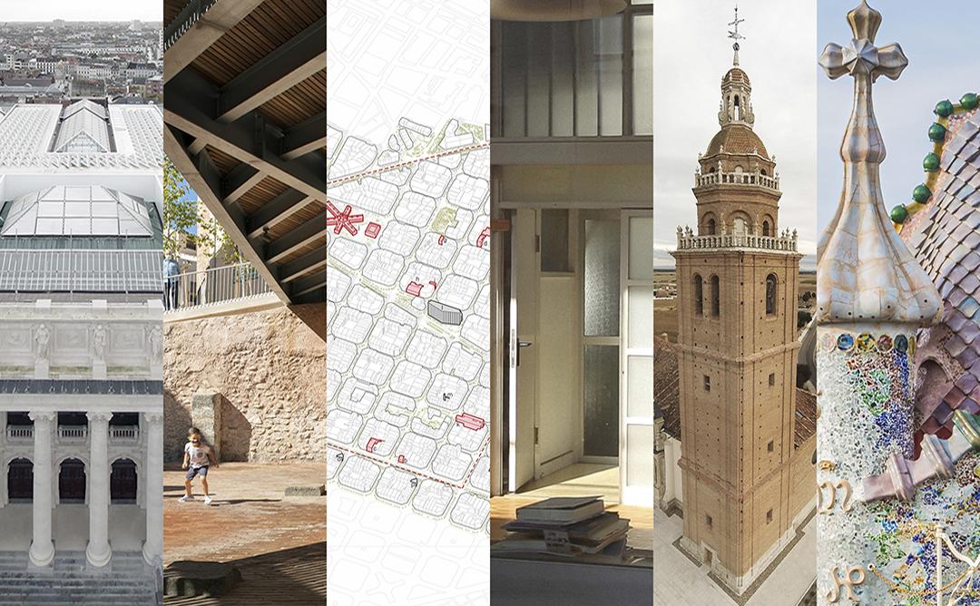 fotografia guardons del V Premi Europeu d'Intervenció en el Patrimoni Arquitectònic